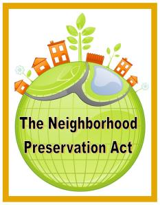 the neighborhood preservation act 2011