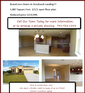new construction, home, greyhawk landing, bradenton, fl, manatee county